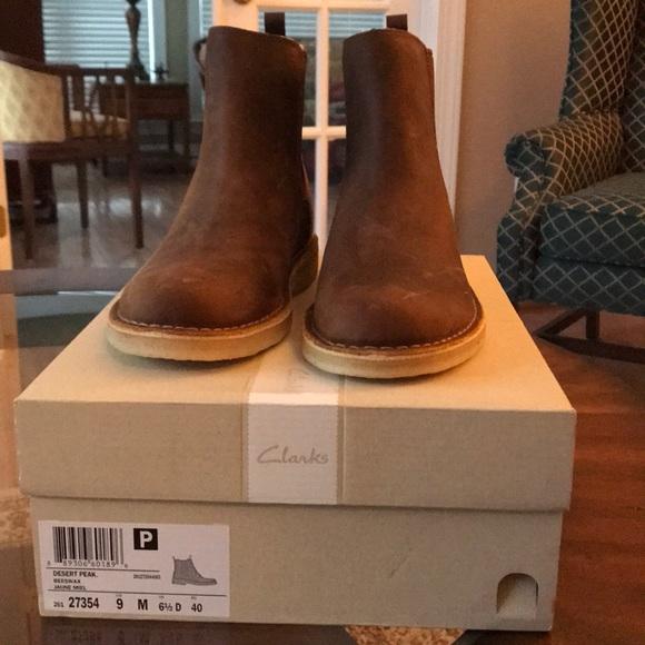 58217aefab4 Women's Clark Desert Peak Beeswax Boots.